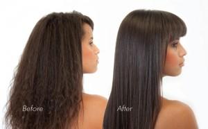 Micro keratin-hair-straightening